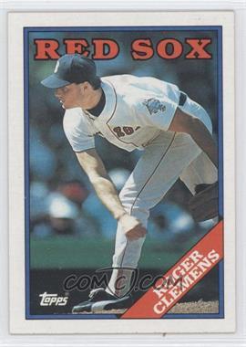 1988 Topps #70 - Roger Clemens