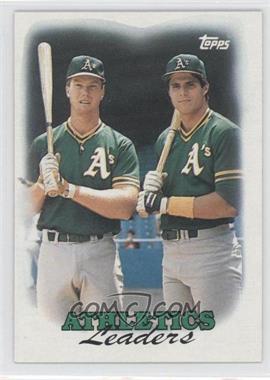 1988 Topps #759 - Oakland Athletics Team