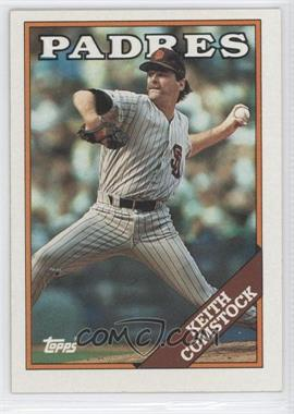 1988 Topps #778.1 - Keith Comstock (Error: White Padres)
