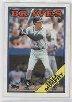 Dale Murphy (Wrong Back: Andy Allanson)