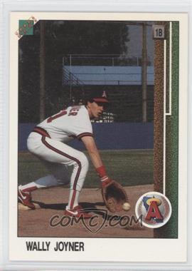 1988 Upper Deck Promos - [Base] #700.2 - Wally Joyner (Large hologram at bottom to edge)