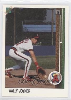 1988 Upper Deck Promos #700.1 - Wally Joyner (Small hologram at bottom)