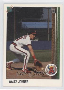 1988 Upper Deck Promos #700.2 - Wally Joyner (Large hologram at bottom to edge)