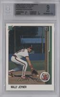 Wally Joyner (Hologram at top, hologram missing) [BGS 9]