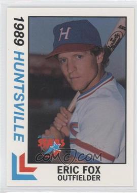 1989 Best Huntsville Stars #9 - Eric Fox
