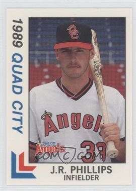 1989 Best Quad City Angels - [Base] #22 - J.R. Phillips