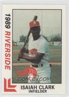 1989 Best Riverside Red Wave - [Base] #29 - Isaiah Clark