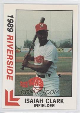 1989 Best Riverside Red Wave #29 - Isaiah Clark