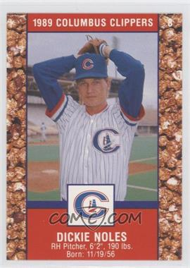 1989 Cracker Jack Columbus Clippers Police - [Base] #8 - Dickie Noles