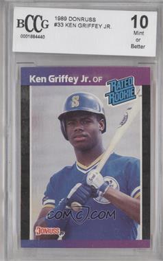 1989 Donruss - [Base] #33 - Ken Griffey Jr. [ENCASED]