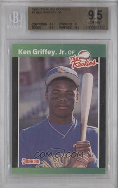 1989 Donruss The Rookies - Box Set [Base] #3 - Ken Griffey Jr. [BGS9.5]