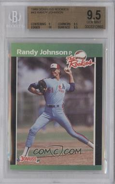 1989 Donruss The Rookies - Box Set [Base] #43 - Randy Johnson [BGS9.5]