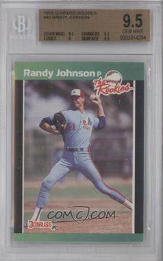 1989 Donruss The Rookies Box Set [Base] #43 - Randy Johnson [BGS 9.5]