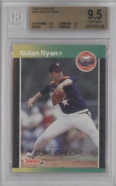 1989 Donruss #154 - Nolan Ryan [BGS9.5]