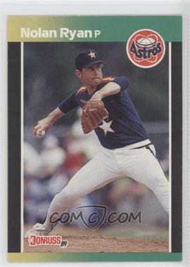1989 Donruss #154 - Nolan Ryan