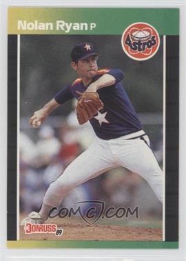 1989 Donruss #154 - Nolan Ryan