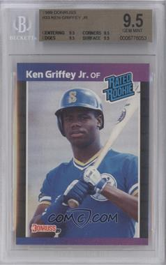 1989 Donruss #33 - Ken Griffey Jr. [BGS 9.5]