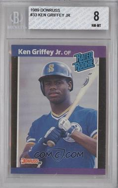 1989 Donruss #33 - Ken Griffey Jr. [BGS 8]
