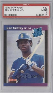1989 Donruss #33 - Ken Griffey Jr. [PSA 9]