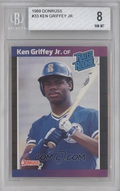 1989 Donruss #33 - Ken Griffey Jr. [BGS8]