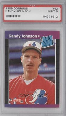 1989 Donruss #42 - Randy Johnson [PSA 9]