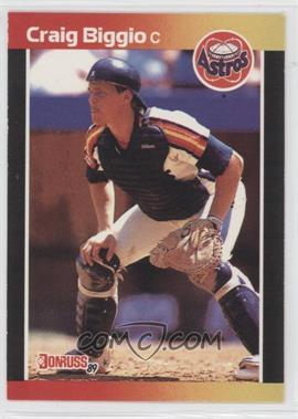 1989 Donruss #561 - Craig Biggio