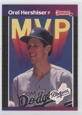 1989 Donruss #648 - Orel Hershiser