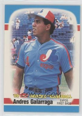 1989 Fleer Heroes of Baseball - Box Set [Base] #16 - Andres Galarraga