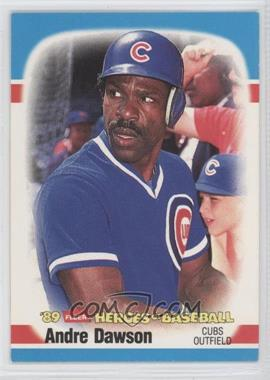 1989 Fleer Heroes of Baseball Box Set [Base] #12 - Andre Dawson
