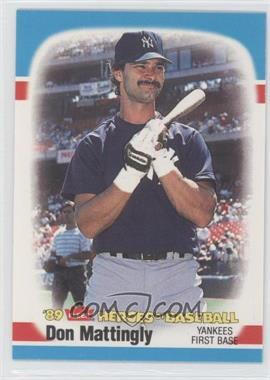 1989 Fleer Heroes of Baseball Box Set [Base] #26 - Don Mattingly