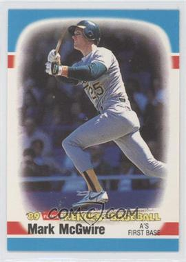 1989 Fleer Heroes of Baseball Box Set [Base] #28 - Mark McGwire