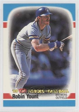 1989 Fleer Heroes of Baseball Box Set [Base] #44 - Robin Yount