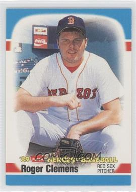 1989 Fleer Heroes of Baseball Box Set [Base] #8 - Roger Clemens