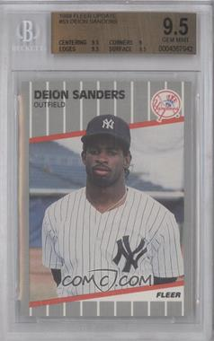 1989 Fleer Update #U-53 - Deion Sanders [BGS 9.5]