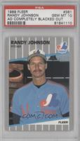 Randy Johnson (Completely Blacked Out Billboard) [PSA 10]