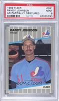 Randy Johnson (Marlboro Billboard Obscured) [PSA 9]
