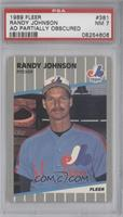 Randy Johnson Box with Bubble on Billboard [PSA 7]