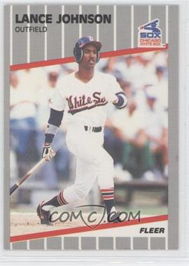 1989 Fleer #499 - Lance Johnson