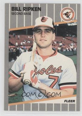 1989 Fleer #616.1 - Bill Ripken (FF on Bat Knob)