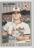 Bill Ripken (FF on Bat Knob, Saw Cut)