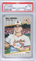 Bill Ripken (Black Scribble on Bat Knob) [PSA 8]