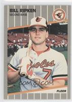 Bill Ripken (Black Scribble on Bat Knob)
