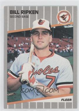1989 Fleer #616.5 - Bill Ripken (Black Box on Bat Knob)