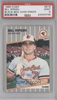 Bill Ripken (Black Box on Bat Knob) [PSA 9]