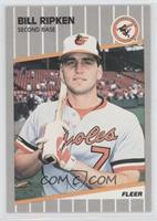 Bill Ripken (Black Box on Bat Knob)