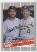 Wade Boggs, Carney Lansford