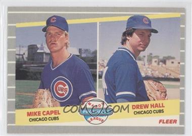 1989 Fleer #643 - Mike Capel, Drew Hall