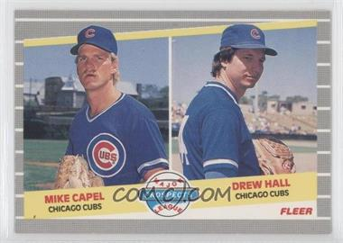 1989 Fleer #643 - Mike Capel, Drew Hall