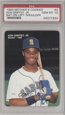 1989 Mother's Cookies Ken Griffey Jr. Food Issue [Base] #3 - Ken Griffey Jr. [PSA 10]