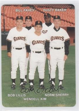 1989 Mother's Cookies San Francisco Giants Stadium Giveaway [Base] #28 - [Missing]